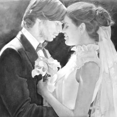 regalo-bodas-regalo-novios-retrato-foto-boda-novios-perfil