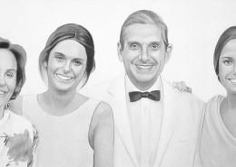 retrato-familiar-carboncillo-lapiz-pastel-blanco-y-negro